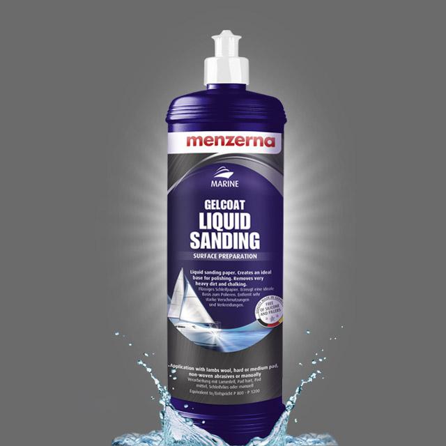 Gelcoat Liquid Sanding